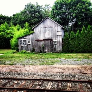 Love this rustic barn